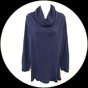 East 5th Sweaters - East 5th Blue cowl neck lightweight sweater!