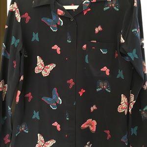 Tucker Tops - Silk blouse