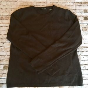 Cashmere! Chocolate brown sweater