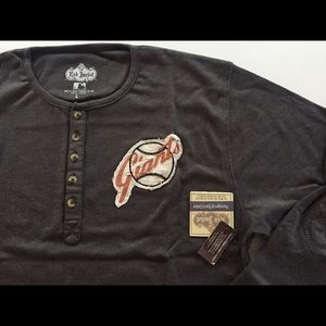 Red Jacket Other - San Francisco Giants Fleece Henley by Red Jacket