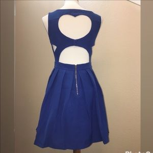 Tea n Cup Dresses & Skirts - ‼️SALE‼️💙🔥Royal classic heart dress🔥 💙