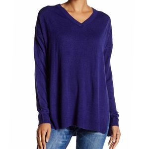 Sweet Romeo Sweaters - NEW Sweet Romeo Oversized V-neck Sweater