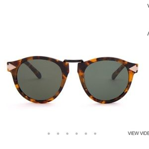 Karen Walker Accessories - Karen Walker Helter Skelter Sunglasses