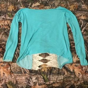 Country long sleeve top