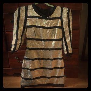 Basix sequin mini dress, like Parker. Sz 4