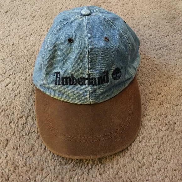 2d6b10c8fb9 Old school Timberland leather hat. M_588d1d9cd14d7bbd9203c93e. Other  Accessories ...