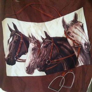 Equestrian Silky Scarf