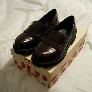 Mojo Moxy Shoes - Cute Chunky Penny Loafers
