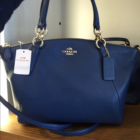 793c70832 Coach Bags | Small Kelsey Satchel In Pebble Leather | Poshmark