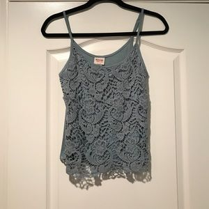 Mossimo Supply Co Tops - Lacey Tank Top