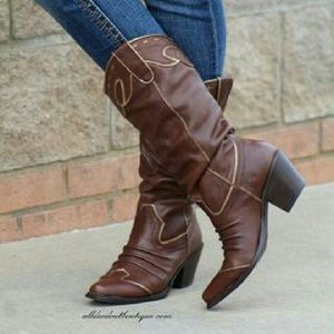 Very Volatile Shoes - Very Volatile Leather Rawhide Boots