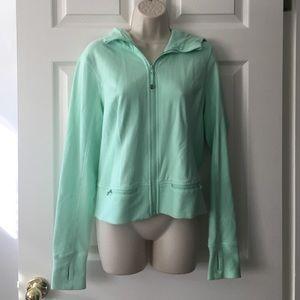 lululemon athletica Tops - Lululemon mint green athletic zip up hoodie