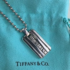 Tiffany & Co. Jewelry - T&Co. Atlas Pendant Necklace