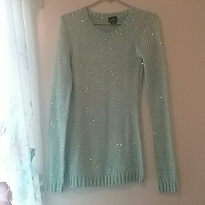 Rue21 Mint sequined sweater