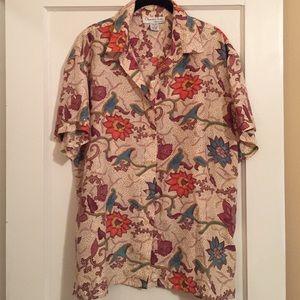 Oscar de la Renta Silk Shirt