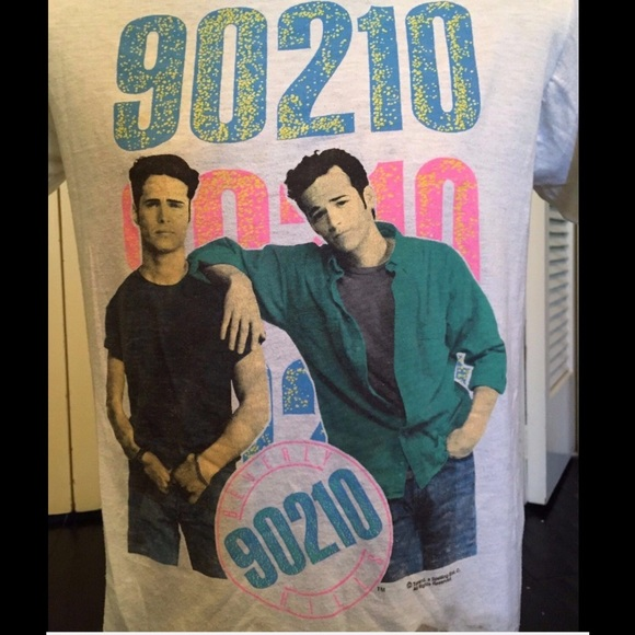 53d73c3b Vintage Tops | Rare Beverly Hills 90210 Tee | Poshmark