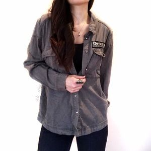 H&M Tops - H&M Utility style shirt