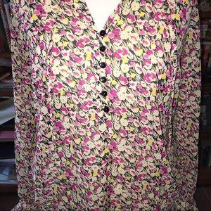 LOFT Tops - ANN TAYLOR LOFT Floral Blouse