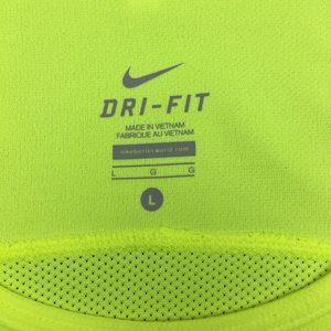 Nike Shirts - Nike Dri-Fit Neon Yellow Gym Tank