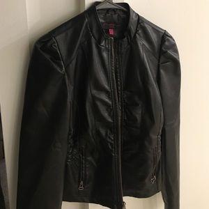 New Look Jackets & Blazers - Black Leather Jacket size Medium