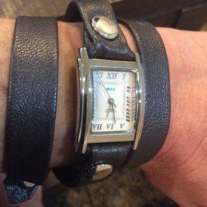La Mer Accessories - La Mer wrap wristwatch.