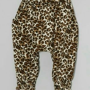 Other - Leighton Alexander Brown/Tan Leopard Harem Pants