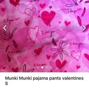 munki munki Other - ❤️Munki Munki pajama pants valentines S Long 28x34