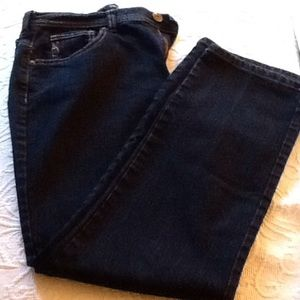 """Style & Co Denim - Style & Co """"natural fit"""" dark navy jeans"""