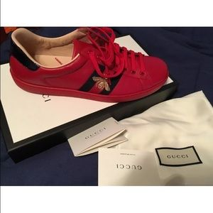 d99a7d11e56 Gucci Shoes - Gucci Ace embroidered low-top sneakers