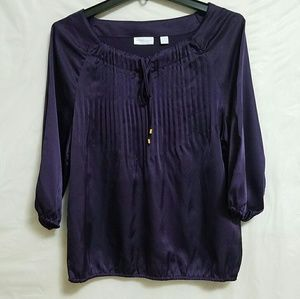 New York & Company Tops - NY&C pleated blouse