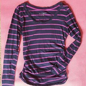 Liz Lange striped early maternity top