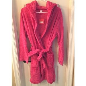 ULTA L/XL pink bathrobe NWT