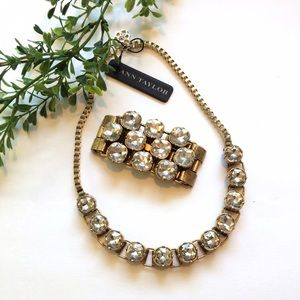Ann Taylor Jewelry - Ann Taylor Statement Necklace and Bracelet Set!
