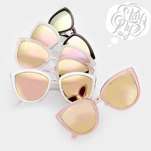 goodchic Accessories - Mirrored Cateye Sunnies