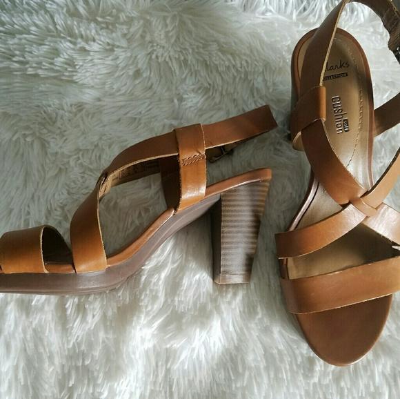 1ef7d3e7e69 Clarks Shoes - Clarks jaelyn fog heeled sandal