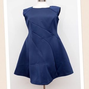 Fashion to Figure Dresses & Skirts - Fashion to Figure Scuba Dress- Size 3X