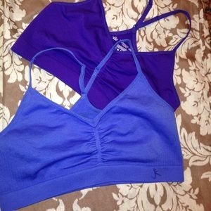 PINK Victoria's Secret Other - DANSKIN NOW  SIZE XXL ONE PURPLE AND ONE BLUE