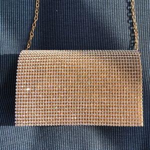 Handbags - Glittery gold purse