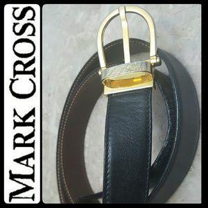 Mark Cross  Accessories - Mark Cross Italy Leather Belt