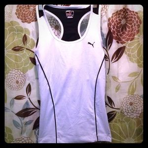 Adidas Other - NWOT PUMA® BREATHABLE WORKOUT TOP W/SPORTS  BRA