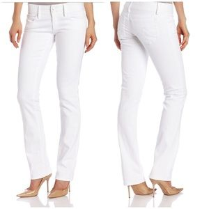 Lilly Pulitzer Denim - {Lilly Pulitzer} Worth Straight Jean Resort White