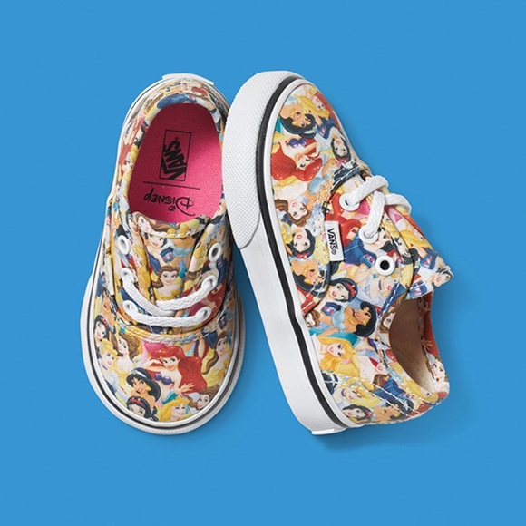 1111e9363b441d NWT Vans Authentic Disney Toddler 8.5 Princess