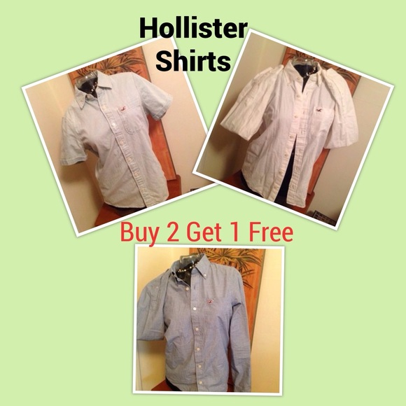 Hollister shirts buy 2 n get 1 free below today m from d for Buy 1 get 1 free shirts