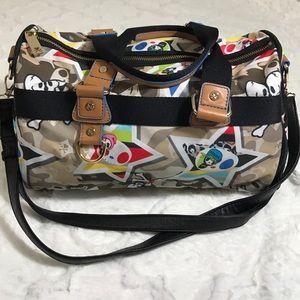 Tokidoki bag purse duffle bowling bag keds polka dot red and white 6 5