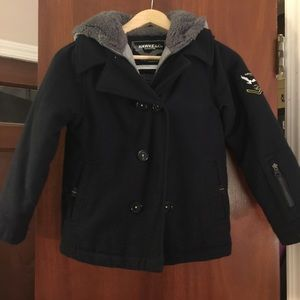 Hawke & Co Other - Hawke & Co. Boy's Pea Coat (Navy Blue)