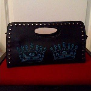 Lux de Ville Double Crown Clutch