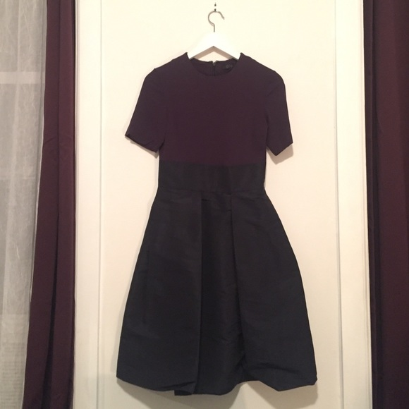 8f7eed2ee8dcc COS Dresses | Navy Blue Dress With Cocoon Skirt | Poshmark