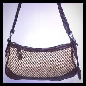 Banana Republic Handbags - BANANA REPUBLIC Woven Mini Bag