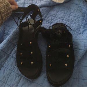Park Lane lace up sandals
