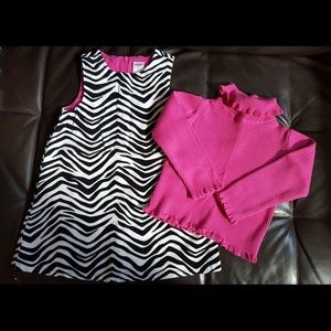 Gymboree Toddler Girls Zebra Outfit size 3T